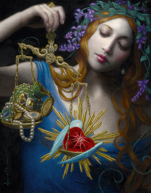 Chie Yoshii, Weight of the Heart | Heart's Blood, Haven Art Gallery