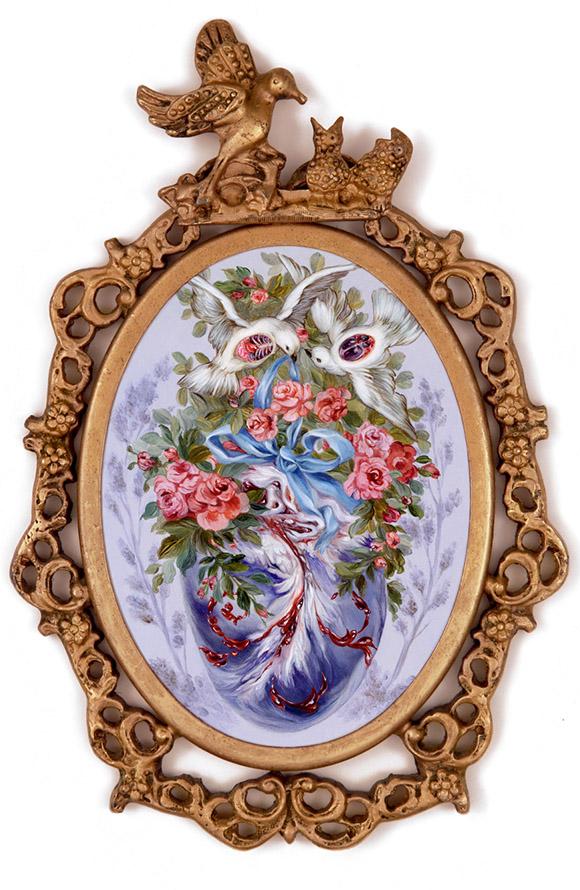 Miso, Crimson Flight   Heart's Blood, Haven Art Gallery