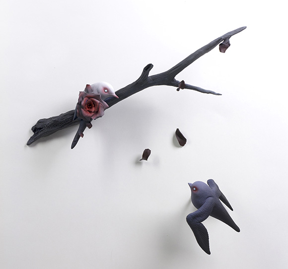 Erika Sanada, Fleeting | Heart's Blood, Haven Art Gallery