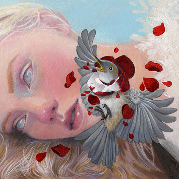 Jel Ena, What Is Joy To Me, To Him Is Pain   Heart's Blood, Haven Art Gallery