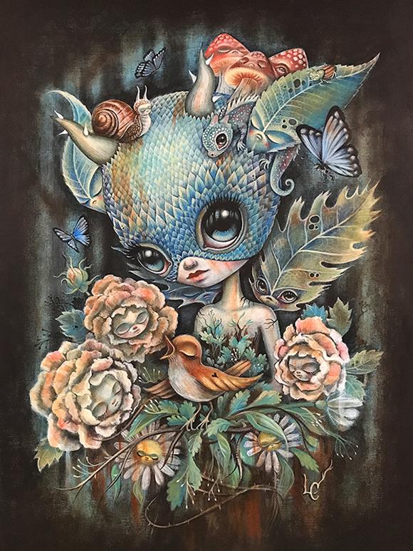 Laura Colors, Encore Supreme   Heart's Blood, Haven Art Gallery