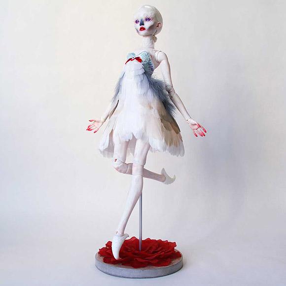 Emilie Steele, Soar    Heart's Blood, Haven Art Gallery