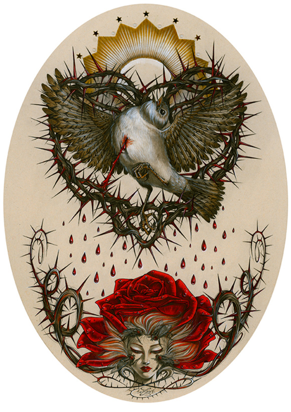 Zoe Lacchei, Tears of Blood | Heart's Blood, Haven Art Gallery