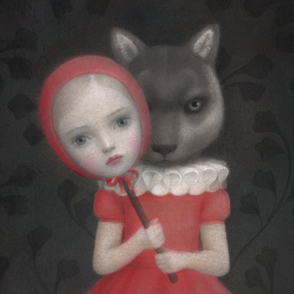 Nicoletta Ceccoli, The Uninvited - Hide and Seek, Corey Helford Gallery