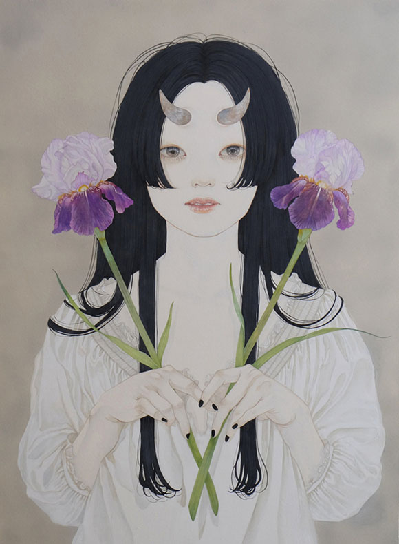 Yuka Sakuma, One Of The Group - Miniature Garden, Corey Helford Gallery