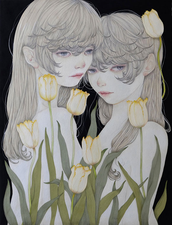 Yuka Sakuma, Possessed - Miniature Garden, Corey Helford Gallery