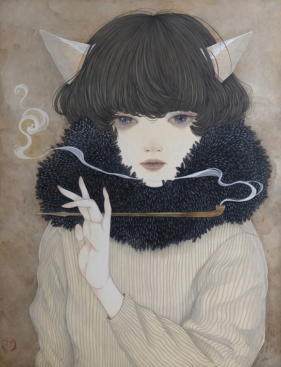 Yuka Sakuma, Reflection Of The Moon - Miniature Garden, Corey Helford Gallery