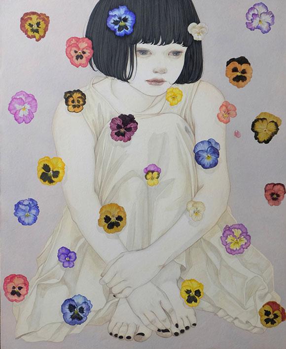 Yuka Sakuma, Bouquet - Miniature Garden, Corey Helford Gallery