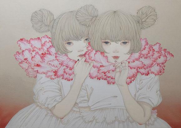 Yuka Sakuma, Cherry - Miniature Garden, Corey Helford Gallery