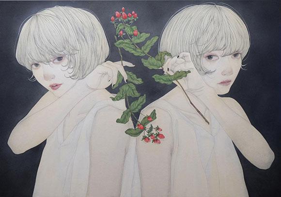 Yuka Sakuma, Twinkle Twinkle - Miniature Garden, Corey Helford Gallery