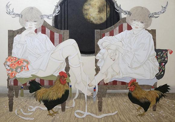 Yuka Sakuma, Miniature Garden - Miniature Garden, Corey Helford Gallery
