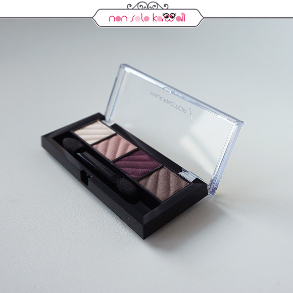 non solo Kawaii | Smokey Eye Matte Drama Kit Rich Roses