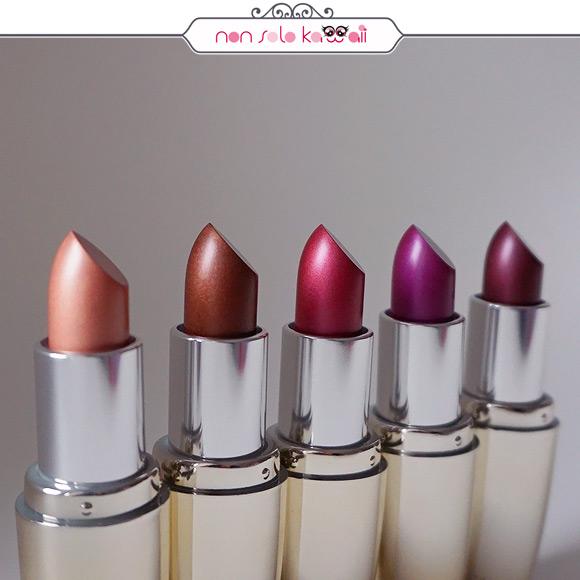 non solo Kawaii | Pupa I'M Metallic 001 Golden Nude, 003 Deep Brown, 006 Intense Ruby, 007 Fancy Cyclamen, 008 Deep Violet