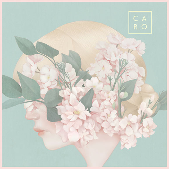 Hsiao-Ron Cheng - Caro, Imaginary Flower, Album Design