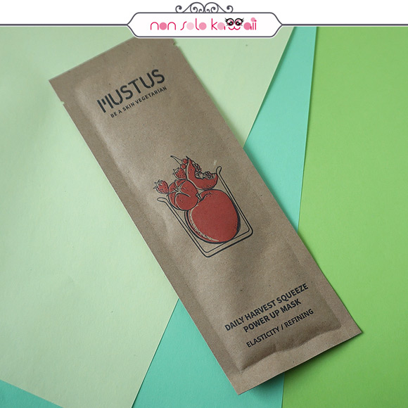 Mustus, Daily Harvest Squeeze Power Up Mask
