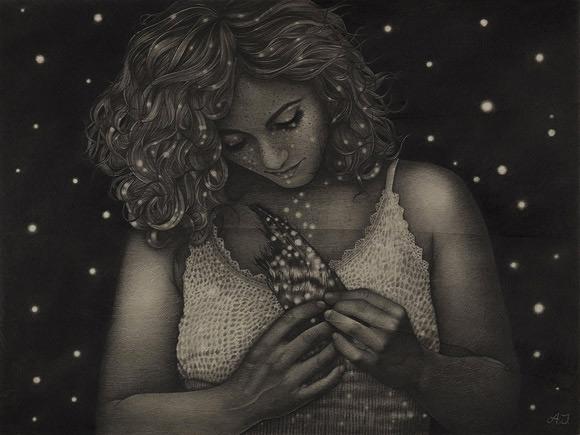 Alessia Iannetti, Black | Aurora Consurgens, Corey Helford Gallery