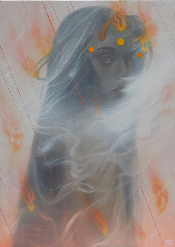 Tarntara Sudadung, Devil's Feelings | Behind The Mythic Veil, Corey Helford Gallery
