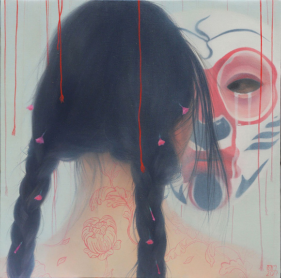 Tarntara Sudadung, A Conversation and Tears | Behind The Mythic Veil, Corey Helford Gallery
