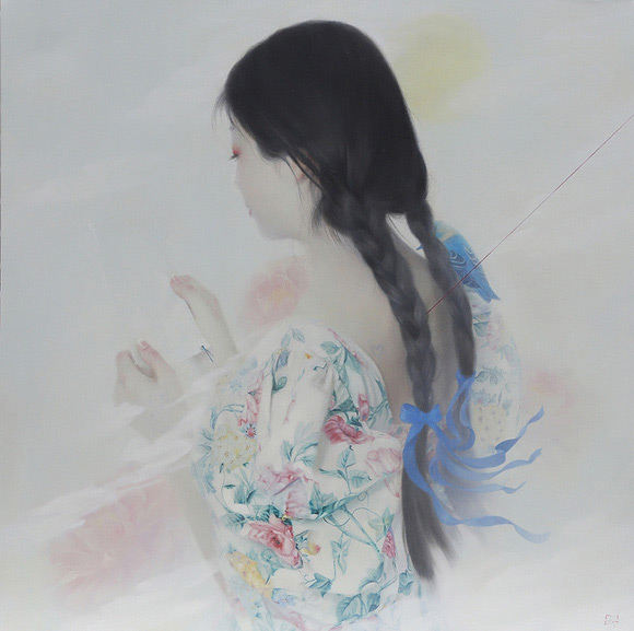 Tarntara Sudadung, The Letter from Emptiness | Behind The Mythic Veil, Corey Helford Gallery