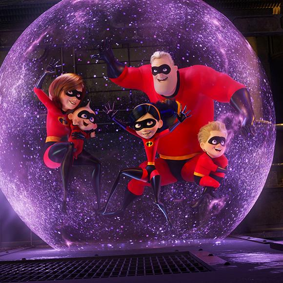 The Incredibles 2 - Pixar Animation Studios, Walt Disney Pictures