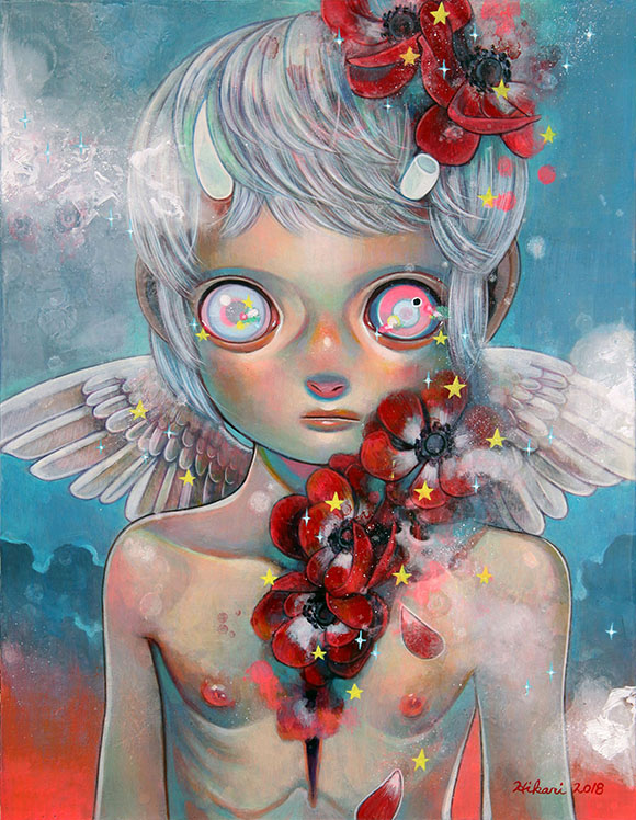 Hikari Shimoda, I Will Not Disappear Faintly - Ephemeral, Modern Eden Gallery