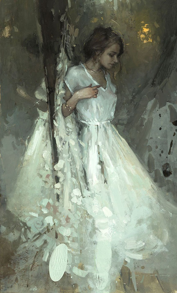 Jeremy Mann, A Passing Thought - Ephemeral, Modern Eden Gallery