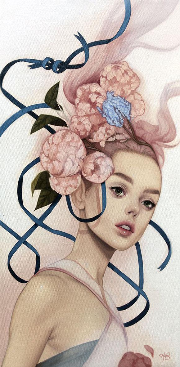 Kelsey Beckett, Bloom - Ephemeral, Modern Eden Gallery