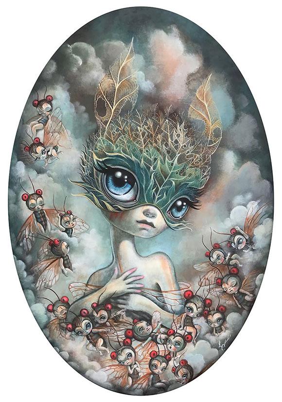 Laura Colors, A Transient Fairytale - Ephemeral, Modern Eden Gallery