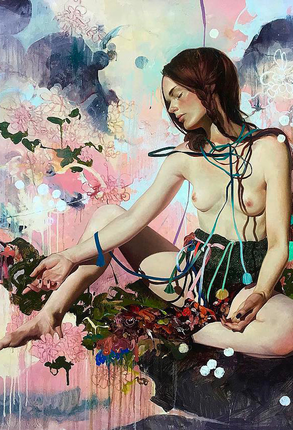Soey Milk, Sādhanā - Inflorescence, Corey Helford Gallery