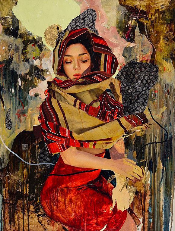 Soey Milk, The Life Between Words - Inflorescence, Corey Helford Gallery