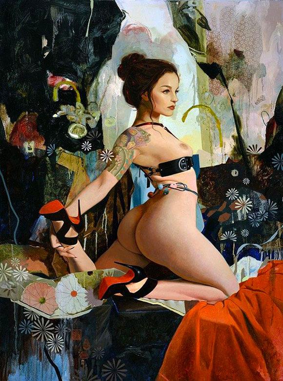 Soey Milk - Inflorescence, Corey Helford Gallery