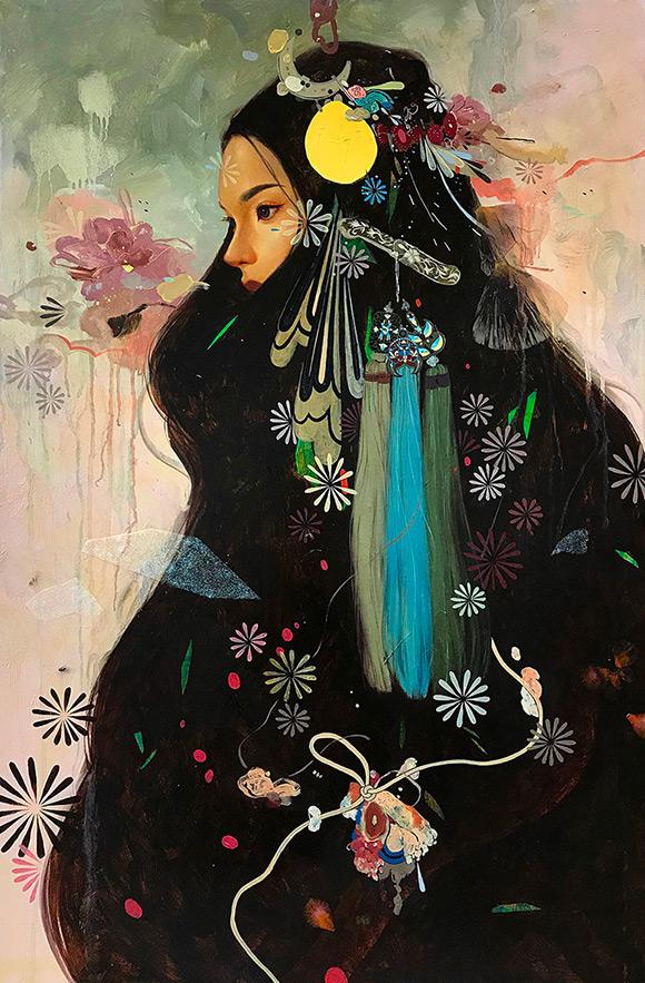 Soey Milk, Silver Dagger Headdress - Inflorescence, Corey Helford Gallery