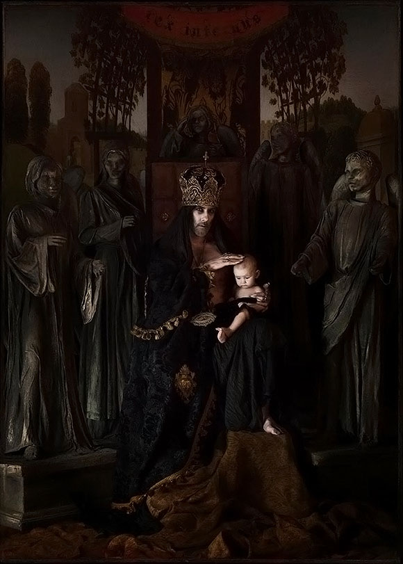 Sylwia Makris, God The Father III | Thou Art Darkest