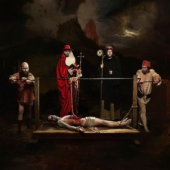 Sylwia Makris, The Martyrdom of St Erasmus | Thou Art Darkest