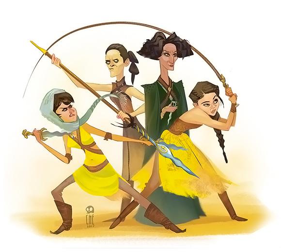 Tata Che - Game of Thrones Fun Art